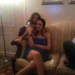 minha filha com uma amiga