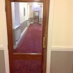 corridors that look like bed and breakfast or old persons home