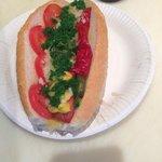 The Chicago Hotdog!