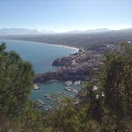 View over Castellamare at 10am