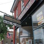 The entrance to Bob's
