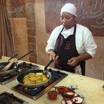 Mona the amazing chef!!!