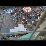 view from wonder wheel. Summer 2013.