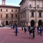 Piazza Grande a Montepulciano
