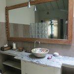 Bathroom for garden facing room