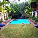Galle Fort Hotel Courtyard