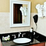 Full vanities with appliaces