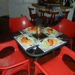 cena invitacion de ernesto y marcela