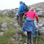 Hicking up the burren