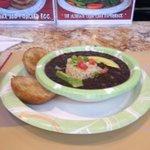 Black bean soup!
