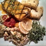 amazing swordfish dinner