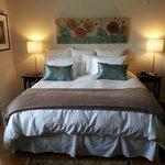 12 South Inn Suites King Suite Bedroom