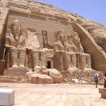 Fachada do Templo de Abu Simbel