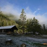 """""""Good Morning"""" at the CWR, our cabin"""
