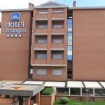 Vista laterale Hotel