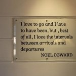 saying i loved posted in the reception area