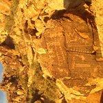 Petroglyphs at Parowan Gap