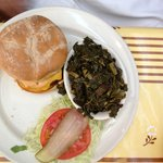 Hamburger and Collard Greens