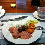 Freshly made breakfast by R&C!