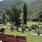 un paesaggio rilassante