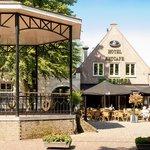 Hotel De Bengel aan de historische markt van Eersel