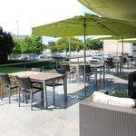 La terraza del Hotel Granollers