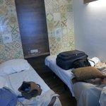 Platzverhältnis im Zimmer