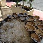 Surtido de ostras a punto de terminarse!