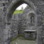 from inside the 10th century st kevin's church