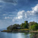 Dunollie Castle taken from Corran Esplanade
