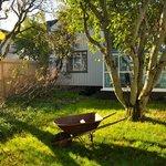 Bed&Books, côté jardin