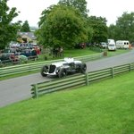 Ex John Cobb Napier Railton; the lap record holder at Brooklands