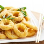 Kalamari Tiganito...(Squid rings deep fried)