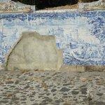 Foto do exterior do palacio de Queluz