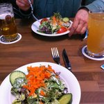 Gemischter kleiner Salat