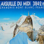 Map Poster of Mont Blanc