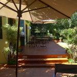 Breakfast area at Mozaika 1