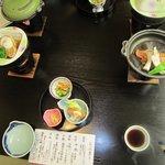 休暇村の夕食1