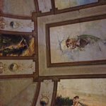 plafond van onze kamer