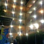 Vista da esplanada para o edifício Acapulco