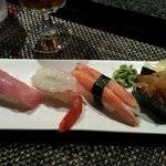 Yellow Tail Tuna..Sweet Shrimp..Snow Crab and Jelly Fish
