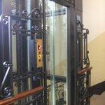ascenseur transparente