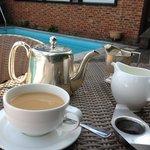 Poolside Tea