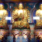 Buddhas at the Baoguo Temple in Mt. Emei