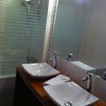 Salle de bains double vasque