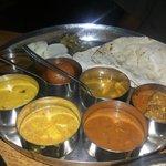 Himachali thali/platter