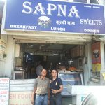 Sapna Sweets near Gurdwara, Kullu on the way to Manali