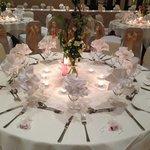 Wedding setting in Ball Room
