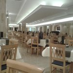 The all new dining hall
