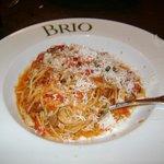 Fennel sausage spaghettini